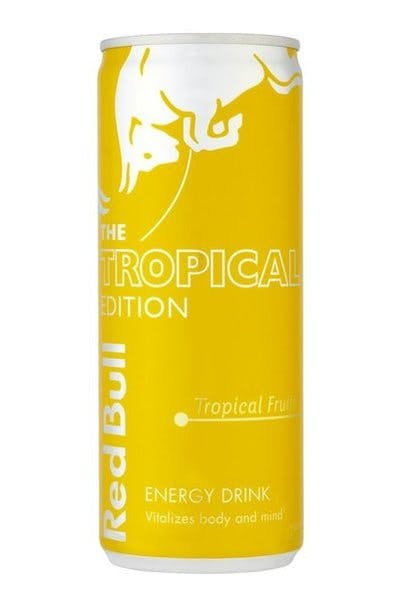 Red Bull Yellow Edition   Tropical Fruit
