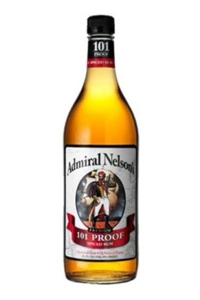 Admiral Nelson 101 Proof Spiced Rum