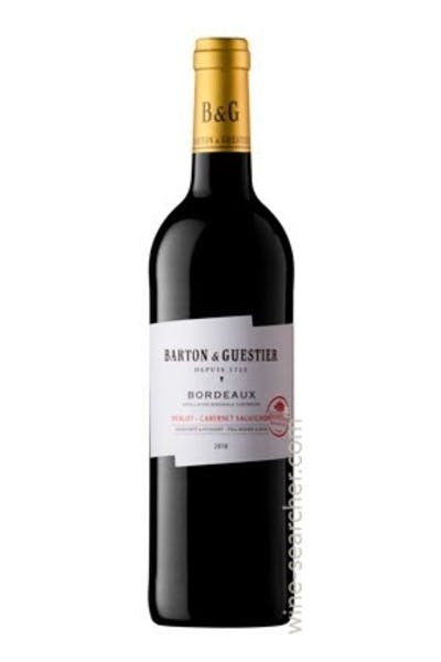 Barton & Guestier Bordeaux Red 2013