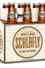 Schlafly White Lager Zwickelbier