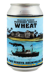 Two Henry's Blueberry Vanilla Wheat