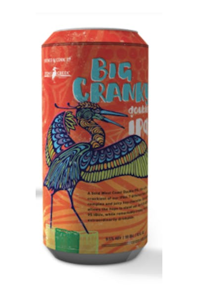 Stony Creek Big Cranky IPA