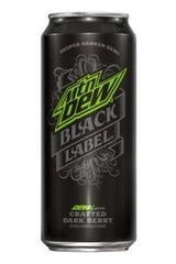 Mountain Dew Black Label