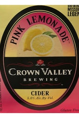 Crown Valley Pink Lemonade