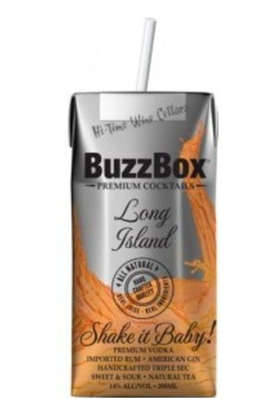 Buzzbox Long Island Cocktail