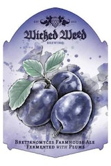 Wicked Weed Le Bonte Plum