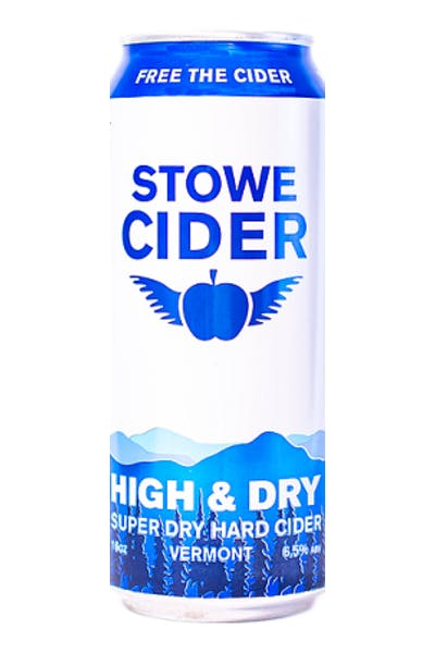 Stowe High and Dry Hard Cider