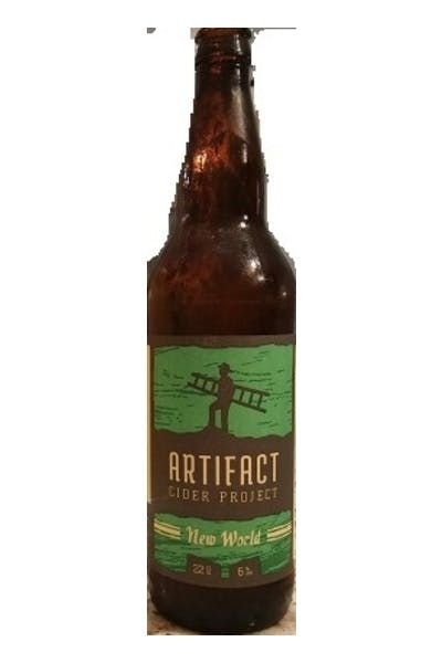 Artifact New World Hard Cider