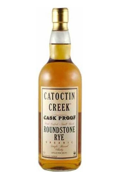 Catoctin Creek Roundstone Rye Cask Proof Whiskey