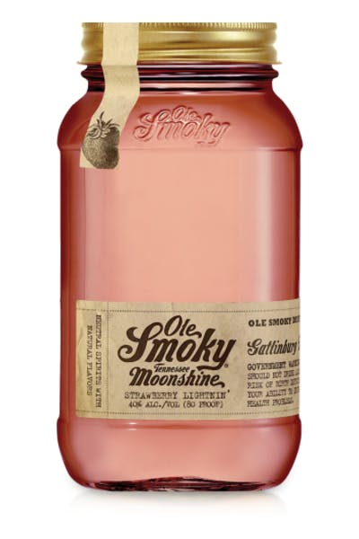 Ole Smoky Strawberry Lightnin' Moonshine