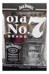 Jack Daniel's Old No. 7 Gift Set w/ 2 Glasses