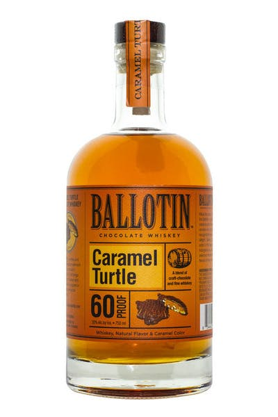 Ballotin Chocolate Caramel Turtle Whiskey