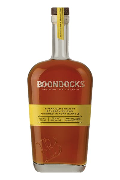 Boondocks 8 Year Bourbon