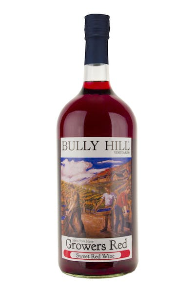 Bully Hill Growers Red