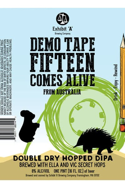 Exhibit A Demo: Tape Fifteen Comes Alive From Australia