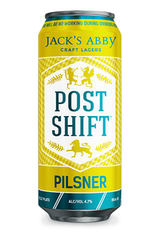 Jack's Abby Post Shift Pilsner