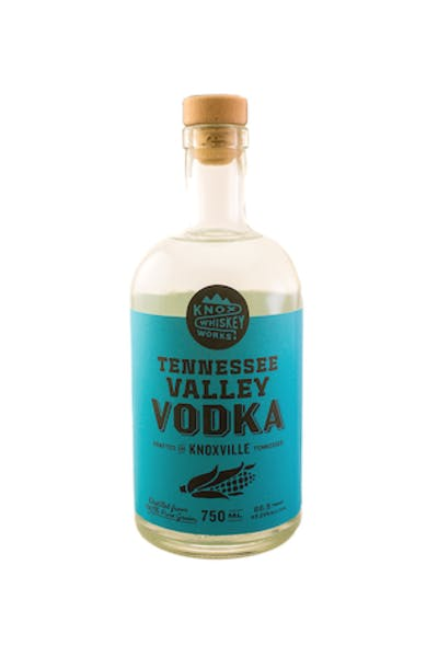 Knox Whiskey Co. Tennessee Valley Vodka