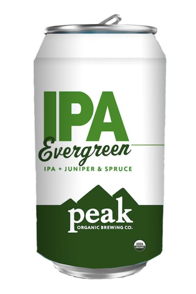 Peak Organic Evergreen IPA
