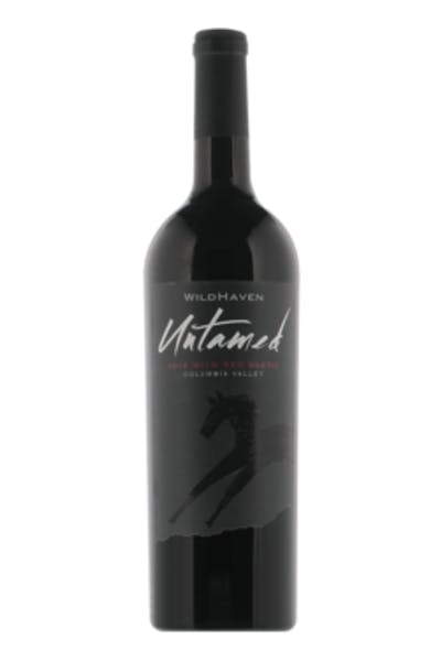 Wildhaven Red Blend Untamed Columbia Valley